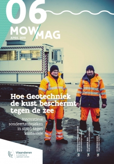 cover van MOWmag 06 van april 2019 met koppen